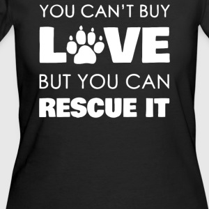 Rescue Love Dog - Women's 50/50 T-Shirt