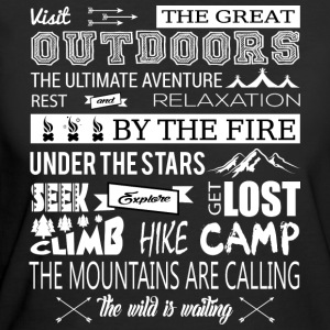 The Great Outdoors The Mountains Are Calling - Women's 50/50 T-Shirt