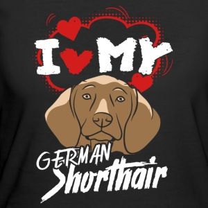 I Love My German Shorthair Pointer - Women's 50/50 T-Shirt