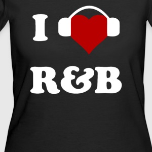I Heart Love R B - Women's 50/50 T-Shirt