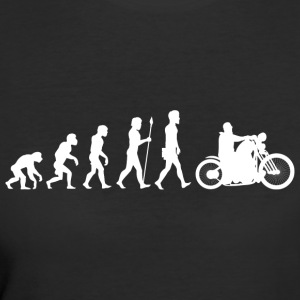Evolution/Motorcycle/Motorcyclist/Biker/Bike - Women's 50/50 T-Shirt