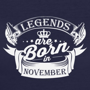 Legends are born in november - Women's 50/50 T-Shirt