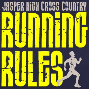 Jasper High Cross Country Running Rules - Women's 50/50 T-Shirt