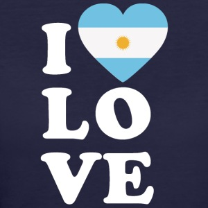 I love Argentina - Women's 50/50 T-Shirt