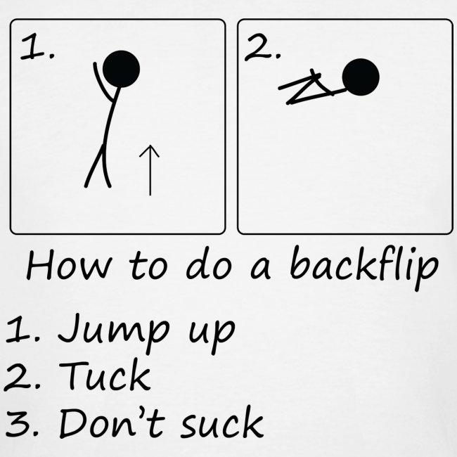 How to backflip