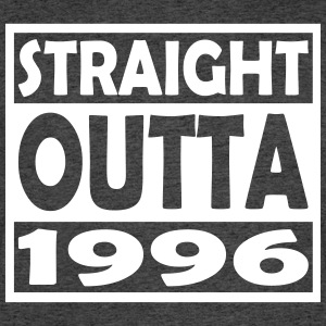 21st Birthday T Shirt Straight Outta 1996 - T-shirt 50/50 pour hommes