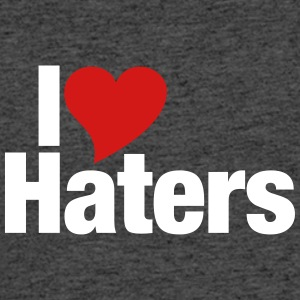 I Love Haters - Men's 50/50 T-Shirt