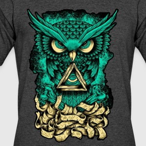 Illuminati Owl - Men's 50/50 T-Shirt