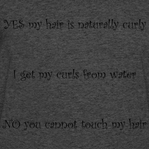 Curly Hair Dont Touch - Men's 50/50 T-Shirt