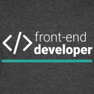 Front End Developer T Shirt - Men's 50/50 T-Shirt