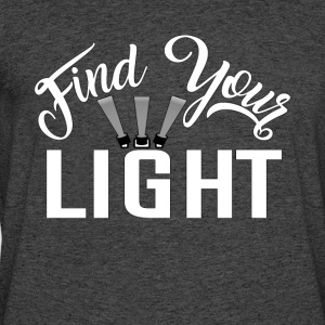 Find Your Light Acting Actor Tee Shirt - Men's 50/50 T-Shirt
