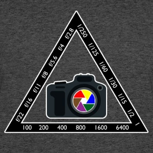 Camera Pyramid - Men's 50/50 T-Shirt