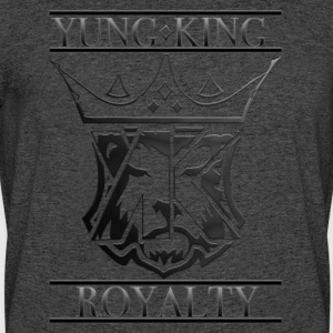 YUNG KING ROYALTY CREST - Men's 50/50 T-Shirt