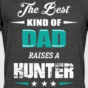 DAD OF HUNTER - Men's 50/50 T-Shirt