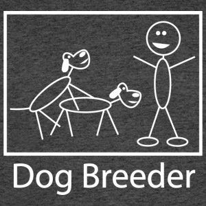 Dog Breeder (Dark) - Men's 50/50 T-Shirt