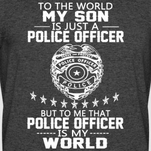 MY SON IS POLICE OFFICER T Shirt - Men's 50/50 T-Shirt