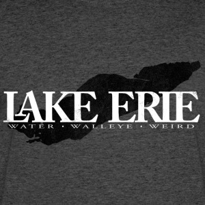 Lake Erie in White - Men's 50/50 T-Shirt