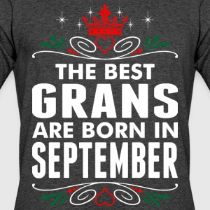 The Best Grans Are Born In September - Men's 50/50 T-Shirt