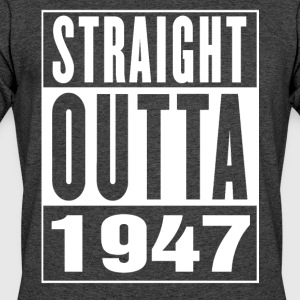 Straight Outa 1947 - Men's 50/50 T-Shirt