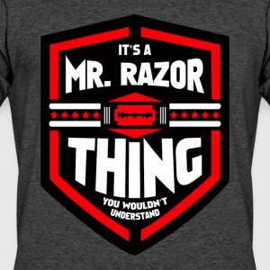It's a Mr Razor Thing Trini - Men's 50/50 T-Shirt