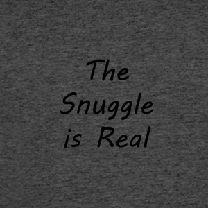 The-Snuggle-is-Real - Men's 50/50 T-Shirt