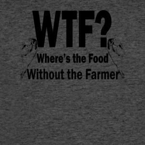 Where's the Food Without the Farmer - Men's 50/50 T-Shirt