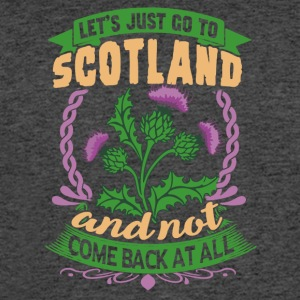 LET'S JUST GO TO SCOTLAND SHIRT - Men's 50/50 T-Shirt