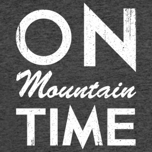 On Mountain Time - Men's 50/50 T-Shirt