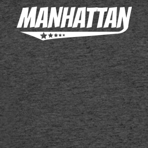 Manhattan Retro Comic Book Style Logo - Men's 50/50 T-Shirt