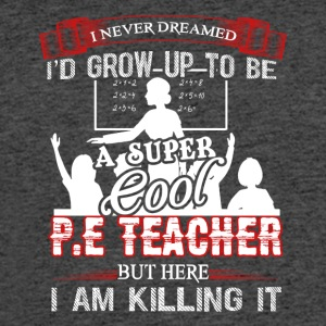 Super Cool PE Teacher Shirt - Men's 50/50 T-Shirt