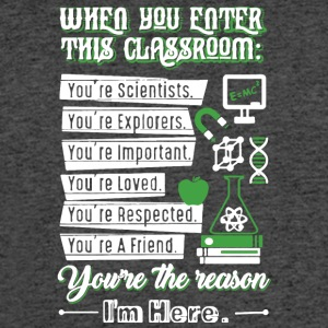 When You Enter This Classroom Chemistry T Shirt - Men's 50/50 T-Shirt