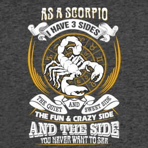 As a scorpio I have 3 sides - Men's 50/50 T-Shirt