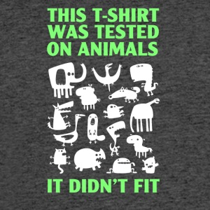 Tested on animals - Men's 50/50 T-Shirt