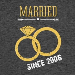 Wedding Anniversary married since 2006 - Men's 50/50 T-Shirt