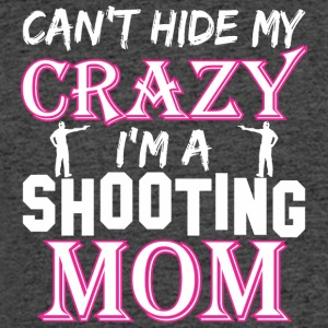 Cant Hide My Crazy Im A Shooting Mom - Men's 50/50 T-Shirt