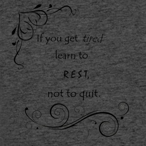 Learn to Rest - Men's 50/50 T-Shirt