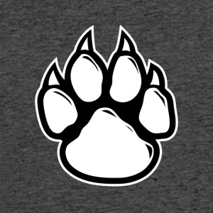 paw print - Men's 50/50 T-Shirt