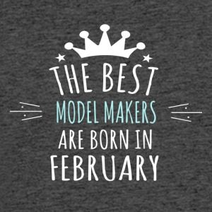 Best MODEL_MAKERS are born in february - Men's 50/50 T-Shirt