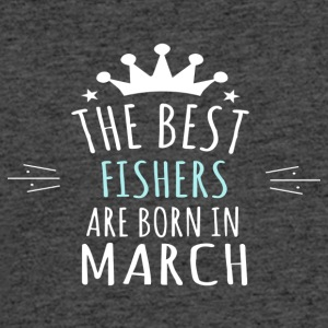 Best FISHERS are born in march - Men's 50/50 T-Shirt