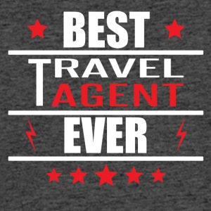 Best Travel Agent Ever - Men's 50/50 T-Shirt