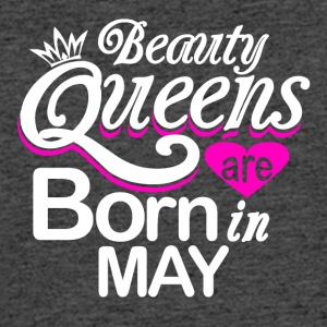 Beauty Queens Born in May - Men's 50/50 T-Shirt