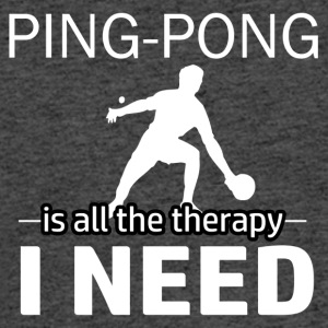Ping Pong is my therapy - Men's 50/50 T-Shirt