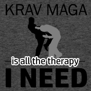 Krav Maga is my therapy - Men's 50/50 T-Shirt