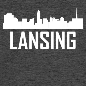 Lansing Michigan City Skyline - Men's 50/50 T-Shirt