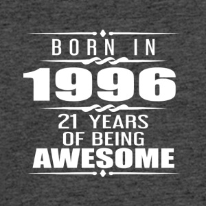 Born in 1996 21 Years of Being Awesome - Men's 50/50 T-Shirt