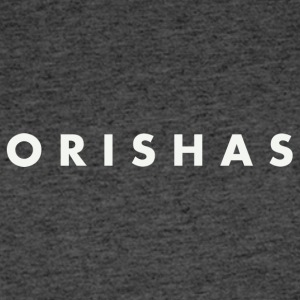 Orishas (Medium Off-White Letters) - Men's 50/50 T-Shirt