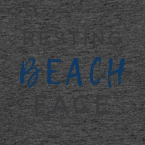 Resting Beach Face - Men's 50/50 T-Shirt