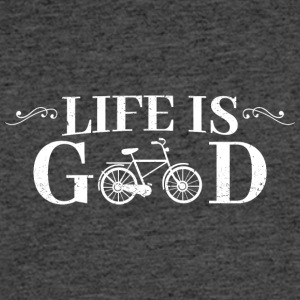 Life Is Good Bicycle - Men's 50/50 T-Shirt
