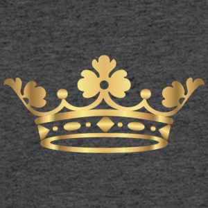 king-prince-gold-crovn-VIP-lable-rap - Men's 50/50 T-Shirt