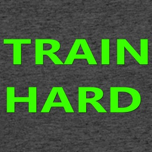 TRAIN HARD GREEN - Men's 50/50 T-Shirt